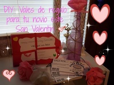 DIY: Vales de regalo para tu novio este San Valentin