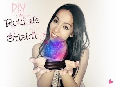 DIY Bola de cristal ♥ Regalo especial (reutiliza tus bombillos) - Camila Palacios
