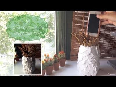 DIY: Cargador en forma de piña | Pineapple phone charger