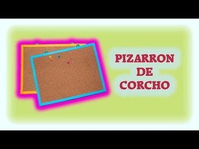 DIY | Pizarron de corcho