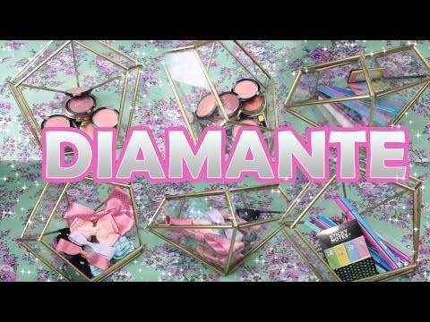 DIY Diamante para decorar tu cuarto ♥