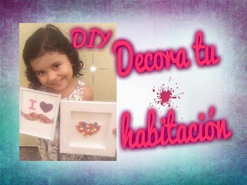 DIY. Ideas para  decorar  tu habitación con cuadros
