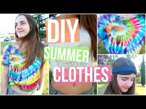 DIY Summer Clothes + Accesories | Lorena Calvo