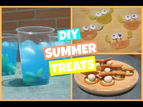 DIY Summer treats | Postres veraniegos
