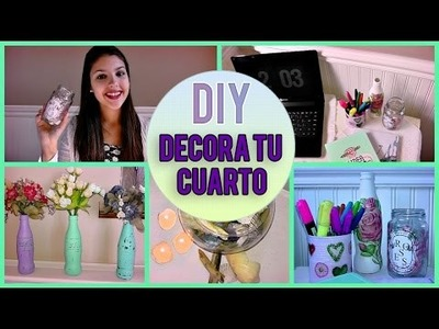►DIY: Decora tu cuarto || Tumblr inspiration