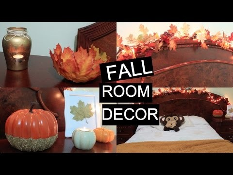 DIY- DECORA TU CUARTO PARA OTOÑO|FALL ROOM DECOR!