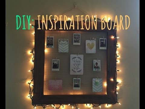 DIY: Inspiration Board