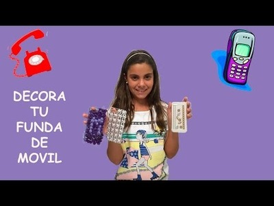 IDEAS PARA DECORAR LA FUNDA DEL MOVIL. CELULAR * DIY EASY