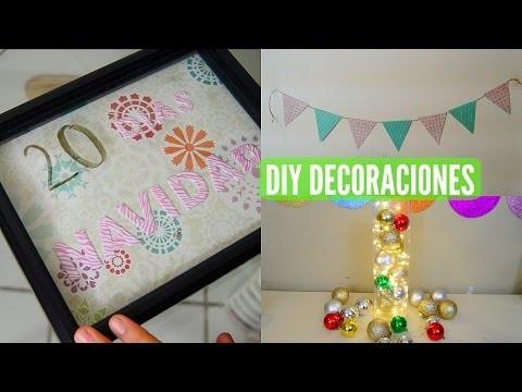 DIY Decoraciones para el cuarto || Lizkaren Diaz