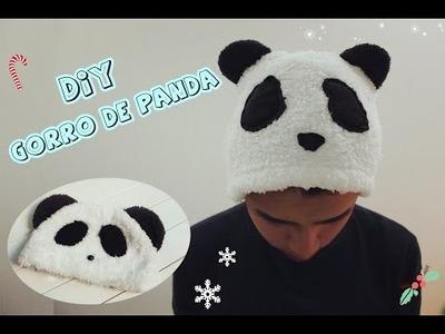DIY.Gorro de PANDA  -Dany Cute-