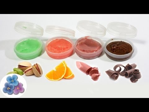 Balsamo para Labios Casero:  Con Sabor, Color, Olor DIY Balsamo Labial Chocolate Pintura Facil