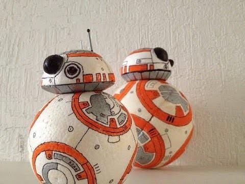 Bb-8 droid DIY | tutorial