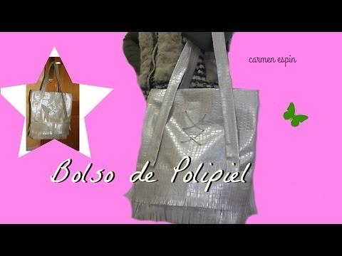 DIY: BOLSO DE POLIPIEL