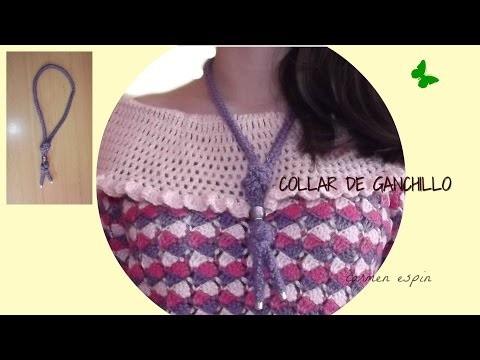 DIY: COLLAR DE GANCHILLO 2ºmodelo
