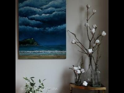 DIY: Cómo hacer una rama de algodón en flor