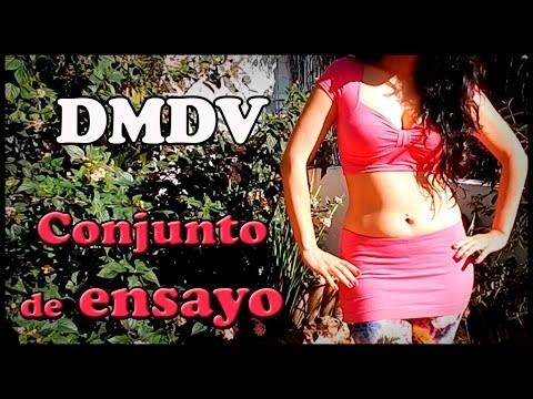 DIY. Conjunto de Danza del Vientre sin costura. Camiseta reciclada