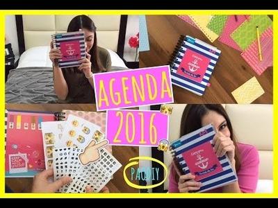 DIY: Crea Tu Propia Agenda 2016!!