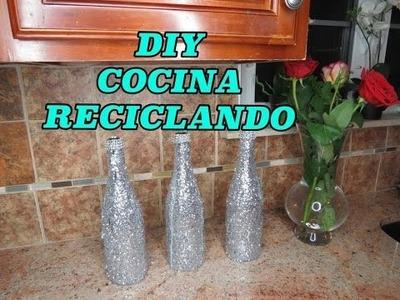 DIY decora tu cosina reciclando