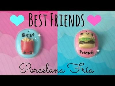 DIY Dijes Para Mejores Amigos. Porcelana fría
