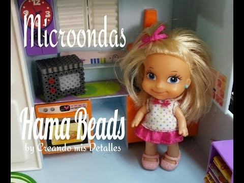 DIY Horno Microondas de Hama Beads 3d Microwave oven