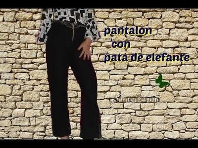DIY: PANTALÓN PATA DE ELEFANTE