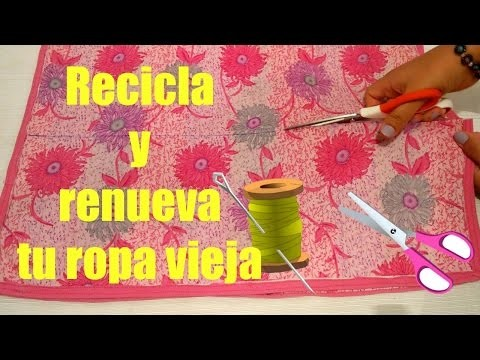 DIY: Recicla y renueva tu ropa vieja | Recycling Old Clothes - Maddy Happy ♥