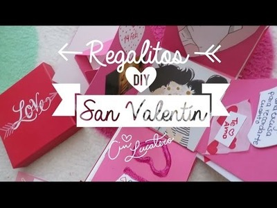 Regalos San Valentín ♡ DIY
