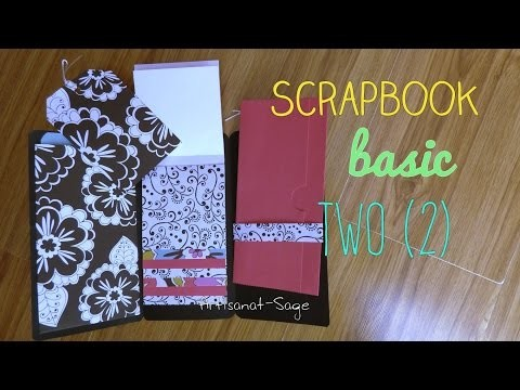 Scrapbook basic two-FACIL-DIY- facil-HOW TO