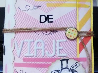 DIY: CUADERNO DE VIAJE (TRAVEL NOTEBOOK)