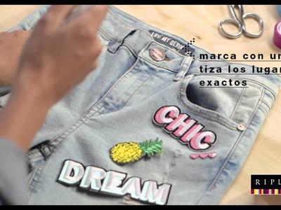 DIY: Jeans con parches