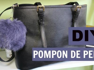 DIY POMPÓN DE PELO