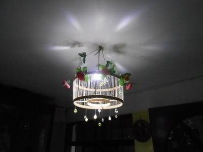 Lámpara Colgante DIY   Manualidades Jesus Corona ; ) #1