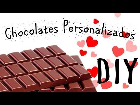 14 Febrero #1 ❤ Chocolates Personalizados DIY