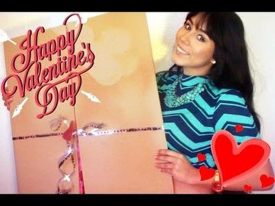 DECLARALE TU AMOR! DIY TARJETA.CARTA GIGANTE!14 de febrero san valentin(facil y economico)-YUMI