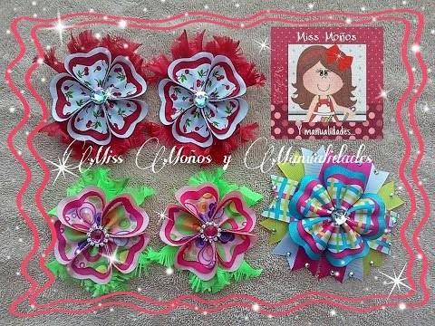 DIY Flores con pétalos de Corazón