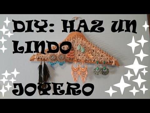 DIY: HAZ UNOS HERMOSOS JOYEROS ♥♥
