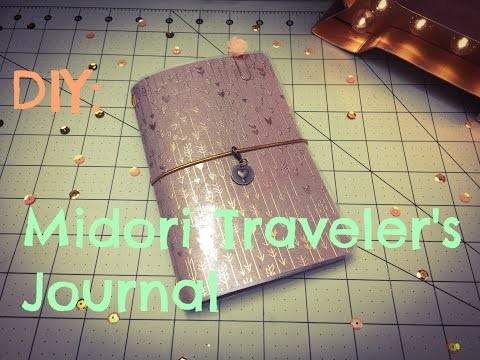 DIY: Midori Traveler's Journals