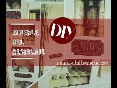 DIY: mueble del reciclaje