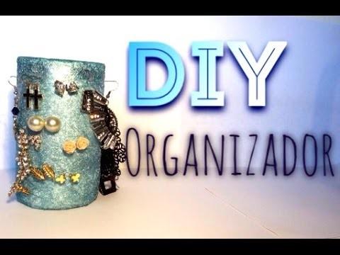DIY | Organizador de aretes ♥