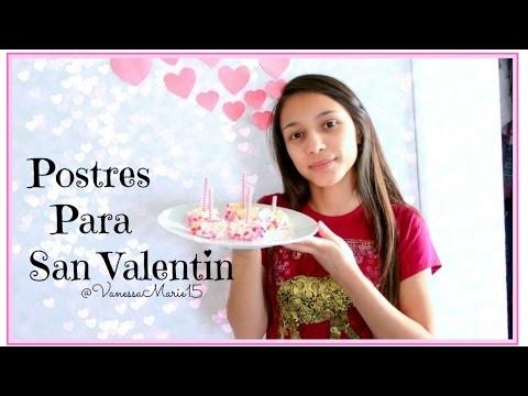 Diy: Postres Fáciles Para San Valentin