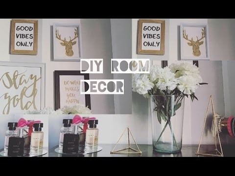 ♡DIY Room decor | Decora tu cuarto tumbrl ♡