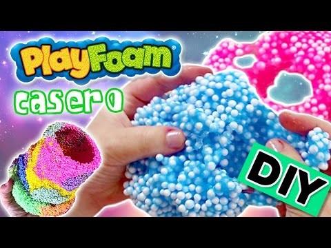 FOAM CLAY casero * Cómo hacer SLIME de espuma DIY