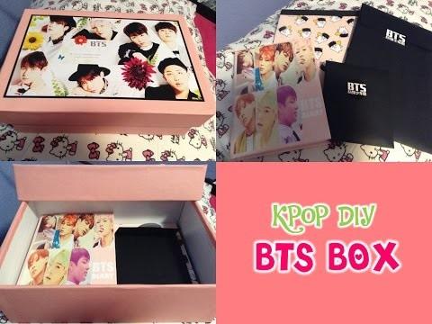 KPOP DIY Como hacer una lucky box o caja sorpresa (BTS)