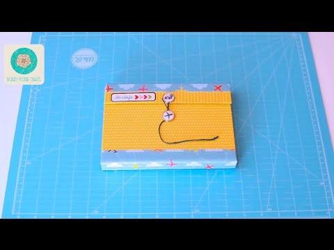 Tutorial Mini Álbum de Viaje | Scrapbook paso a paso (DIY)