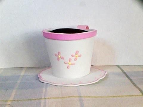 DIY aromatizante taza de fomi