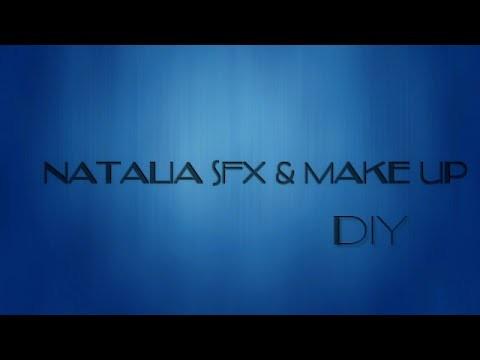 DIY COMO ARREGLAR UN PRODUCTO EN POLVO-- NATALIA SFX & MAKRE UP