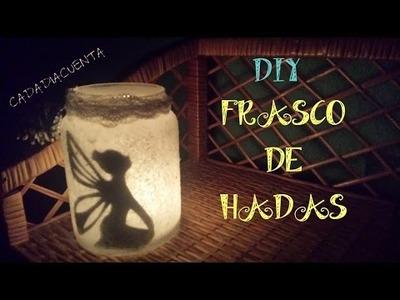 DIY- Frasco de hadas
