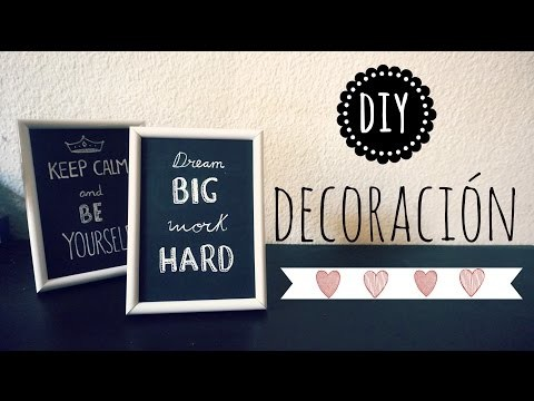 DIY Ideas para Decorar :)