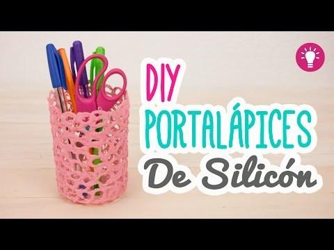 DIY Lapicero de Silicón | Portalapices fácil en 5 minutos | Organiza tu Escritorio Mini Tip# 79