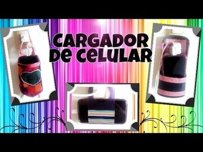 DIY Porta cargador para celular.movil - Ingenio KD
